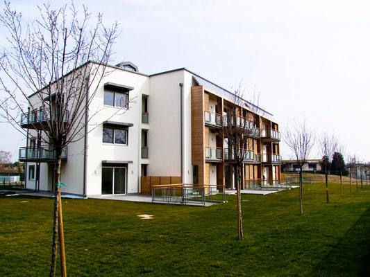 I giardini di Laghetto – nuova edilizia civile – Vicenza
