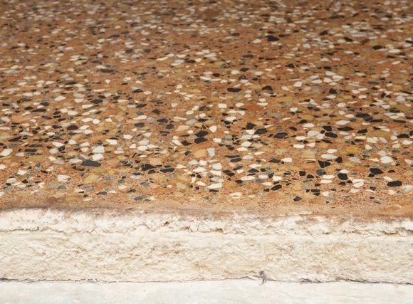 Sezione di Terrazzo alla Veneziana