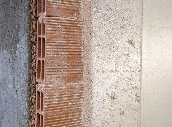Vista stratigrafica di un pacchetto muro realizzato con prodotti MGN