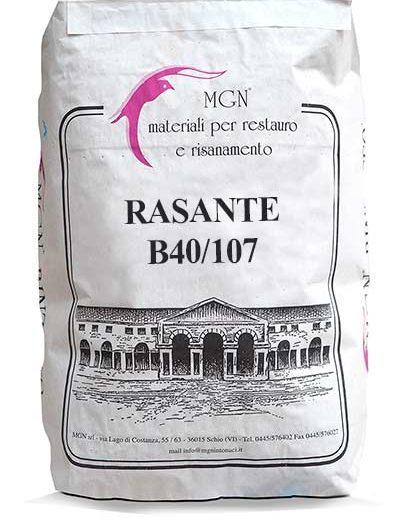 Rasante B40 con 107 MGN