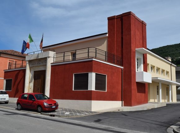 Ex casa del fascio-Barbarano Vicentino-mgn